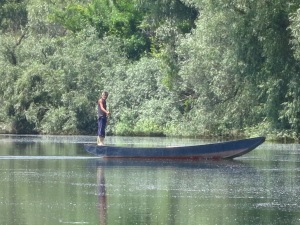 Fisherman - Danube Delta Arm